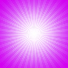 Purple starburst effect background