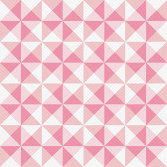 Pink triangle and lines pattern1