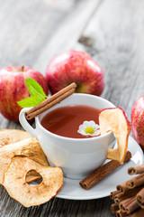 Apfel-Zimt Tee