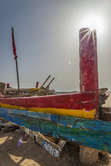 Lago salado Túnez