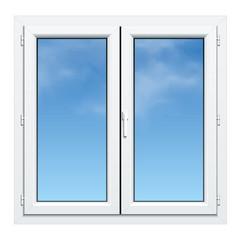 Fenêtre PVC double battant