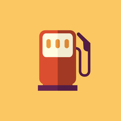 Fuel. Transportation Flat Icon