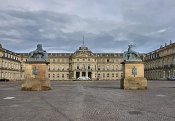 New Castle in Stuttgart, Schlossplatz