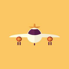 Aircraft. Transportation Flat Icon