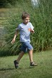 Bambino che corre
