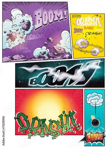 obraz-strony-komiksu-z-roznymi-komiksami-w-tle