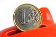 euro in sparschwein