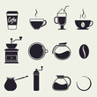 coffee icons - 70219313