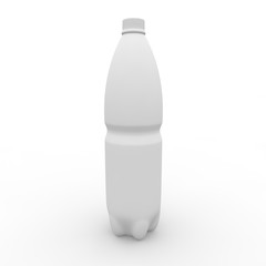 One and a half liter bottle of white