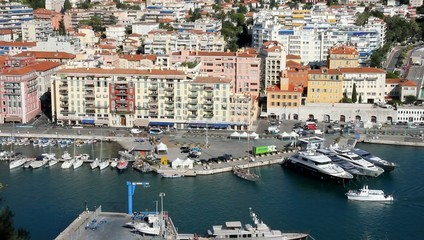 The Port of Nice, French Riviera