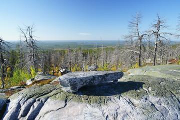 Scenery from Mountain Vottovaara