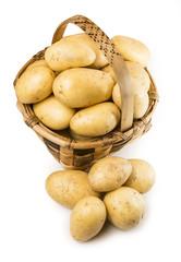 Cesta de patatas