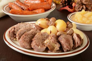 Prok loin roast