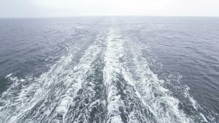 Follow ferry in rains