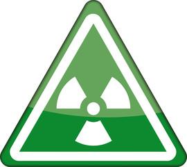 Warnzeichen, Radioaktiv