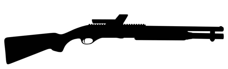 jagdgewehr silhouette