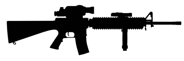 Sturmgewehr Silhouette