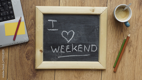 Monday, friday, weekend activities, calendar, week, the end, letter i, love, stock market data, decoration, family