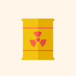 Nuclear Flat Icon