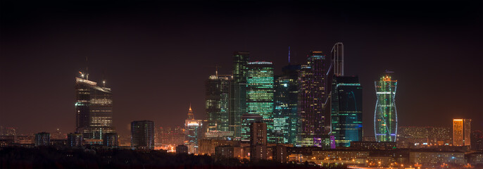 Panorama Moscow City