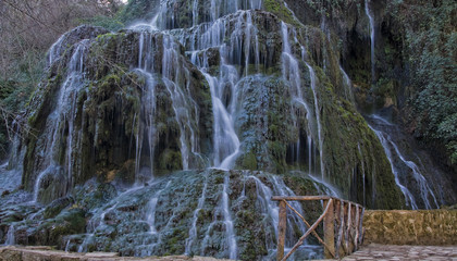"Waterfall at the ""Monasterio de Piedra"", Zaragoza, Spain"