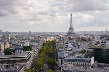 Evening in Paris, France