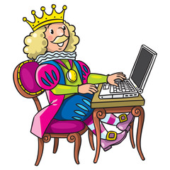Fairy tale king