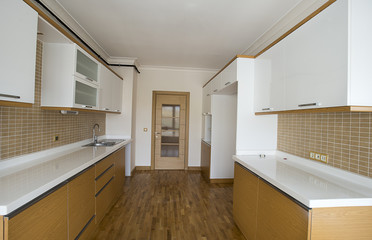 New Kitchen without Appliances