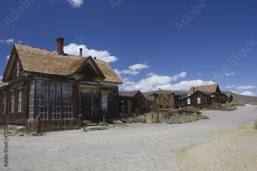 canvas print picture Bodie Ghost Town, USA