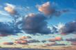Beautiful cloudscape over the sea, sunset shot - 70226702