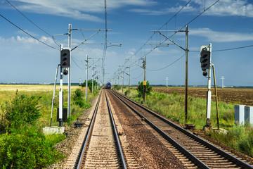 Electric railroad, Romania