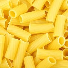 Full background of rigatoni pasta