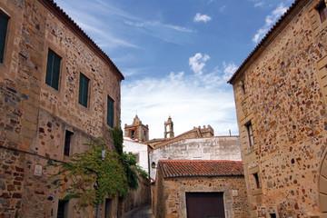 Palacios medievales, Cáceres monumental, España
