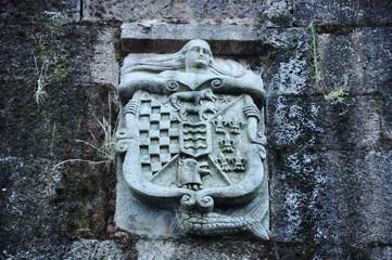 Pontevedra, Galicia, heráldica, blasón, arquitectura