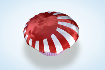 Japan's, Japanese Flag Cupcake