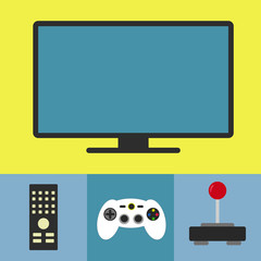 Tv and videogame