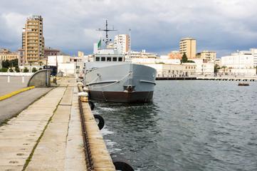 Italian navy ship