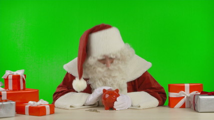 Santa's Tip: Buy Clever, Save Money - Different Gestures