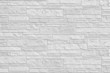 New Tiled white brick wall background and texture