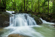 Landscape of Krating waterfall in Juntaburi province ,Thailand