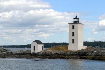 Dutch Island Light, Narraganset Bay RI, USA