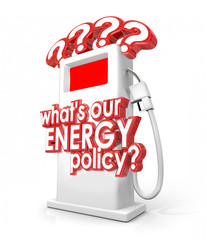 What is Our Energy Policy Question Fuel Gas Pump