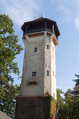 Karlovy Vary observation tower.