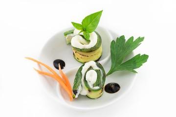 zucchine- finger food