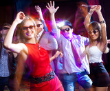 Fototapety dance party