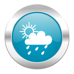 rain internet blue icon