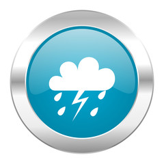 storm internet blue icon