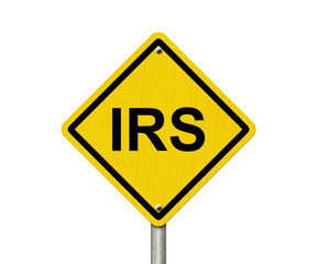 IRS Warning Sign