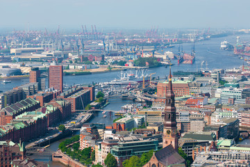 Hamburg port
