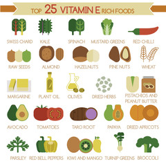Top 25 vitamin E rich foods